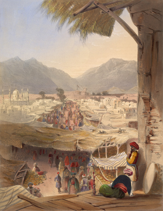 kandahar_city_during_1839-42