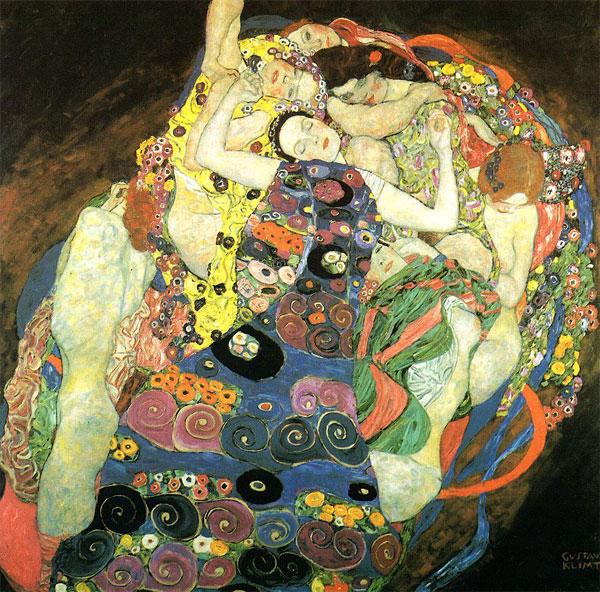 klimt-die-jungfrau-1913