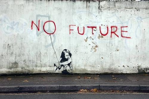 banksy_no_future_1