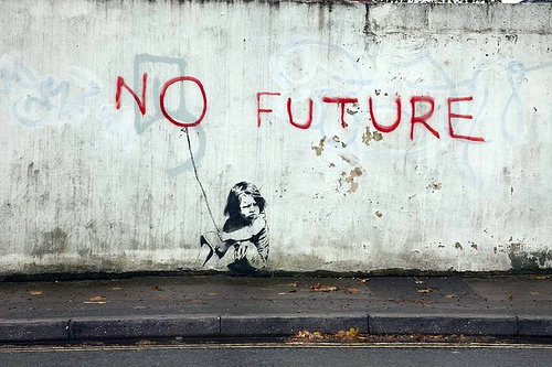 banksy_no_future_1