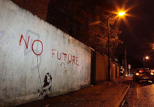 banksy_no_future_2