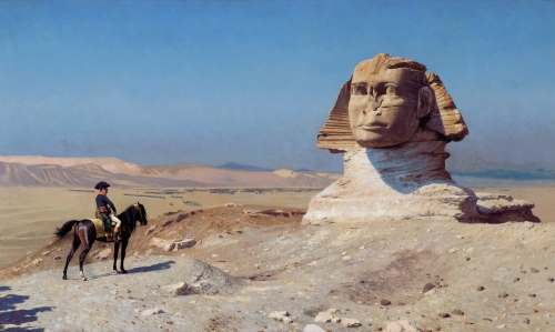 Oedipus in Egypt, by Jean-Léon Gérôme